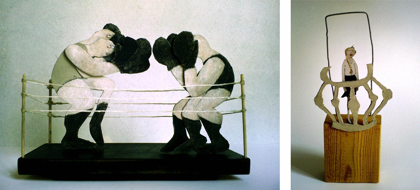 Boxer. Ausblick vom Balkon. (1994-1998)