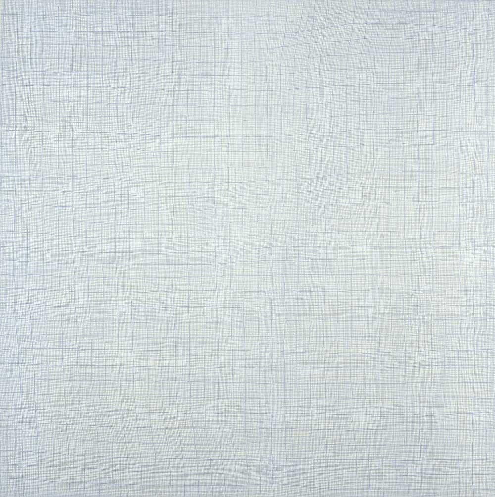 Blau. 1 x 1 m. (2)